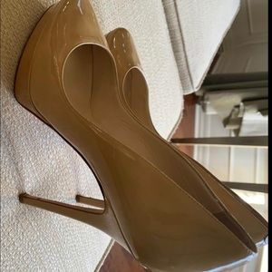 ✨Jimmy choo✨ Authentic Nude Pumps